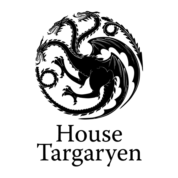 Наклейка House Targaryen, фото 13