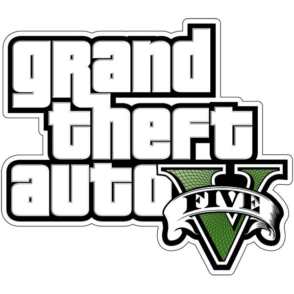 Наклейка GTA Five, фото 1