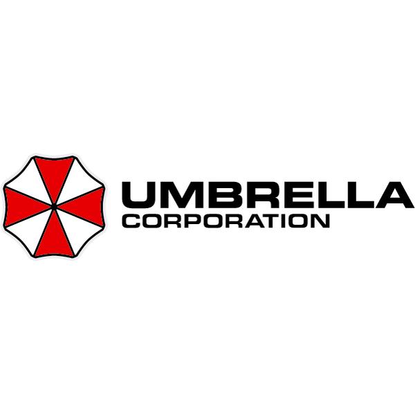 Наклейка Umbrella corporation (логотип слева), фото 3