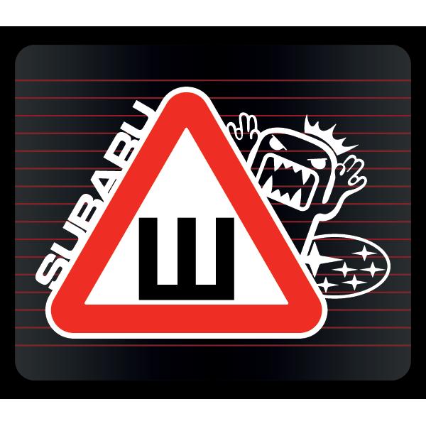 Наклейка Шипы Subaru, фото 1