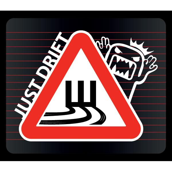 Наклейка Шипы Just Drift, фото 1