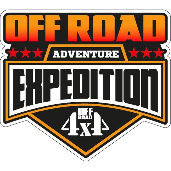 Наклейка Off Road Expedition, фото 1