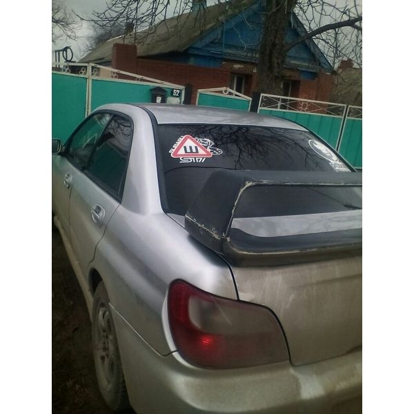 Наклейка Шипы Subaru STI, фото 2