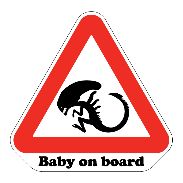 Наклейка Baby on board, фото 1