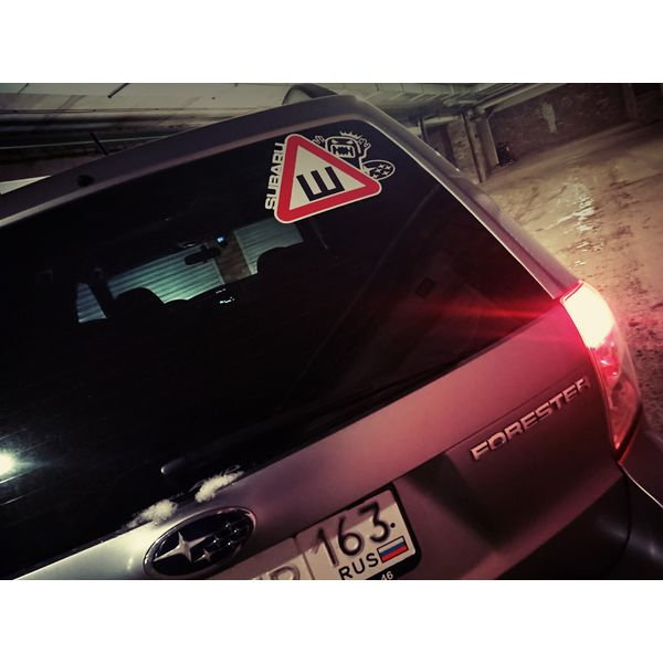 Наклейка Шипы Subaru, фото 3