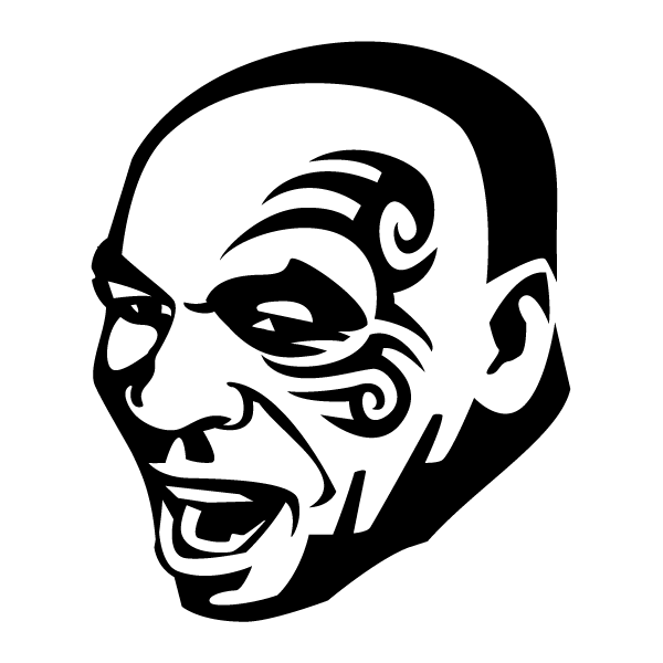 Наклейка Mike Tyson, фото 13