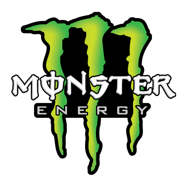 Наклейка Monster energy, фото 1