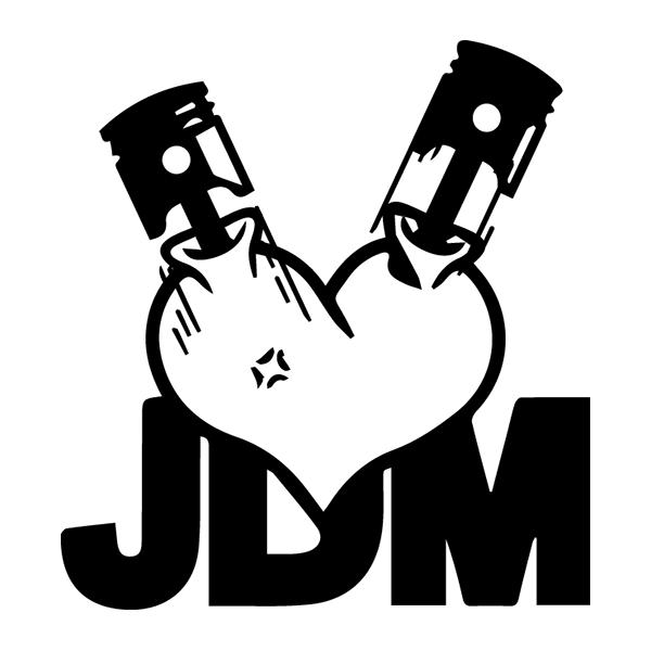 Наклейка JDM motor, фото 13