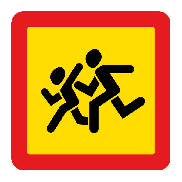 Наклейка Перевозка детей, фото 1