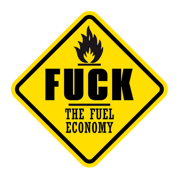 Наклейка Fuck the fuel economy, фото 1