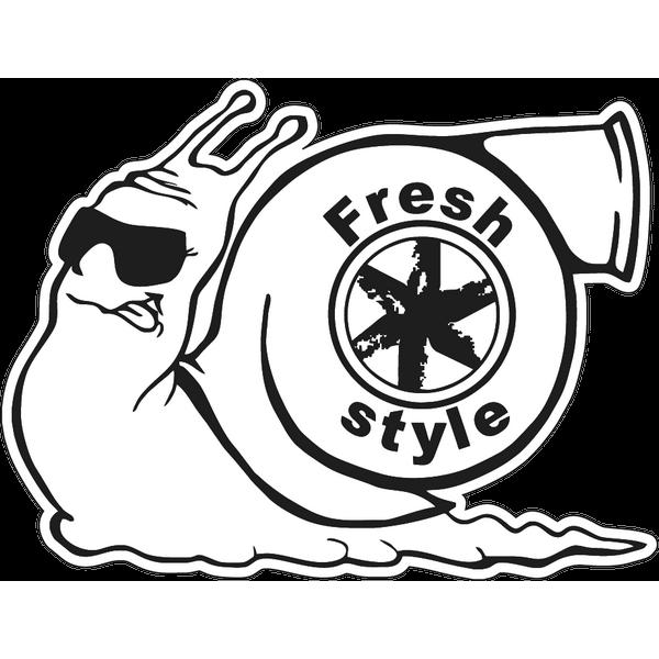 Наклейка Fresh style, фото 1
