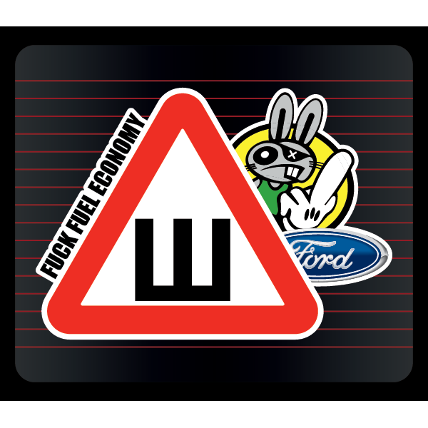 Наклейка Шипы Ford, фото 1