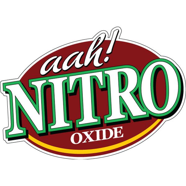 Наклейка Aah! Nitro oxide, фото 1