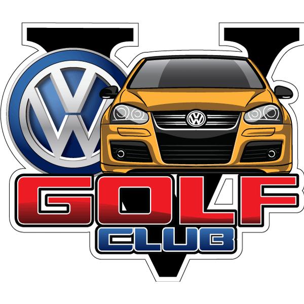 Наклейка Golf V Club, фото 5
