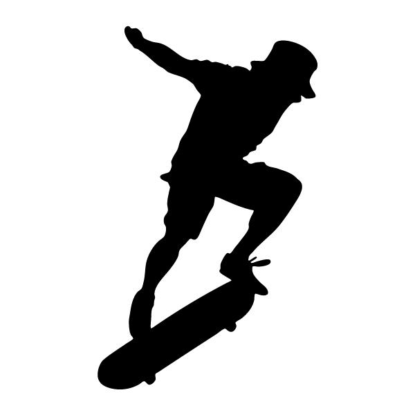 Наклейка Скейтбордист, фото 13