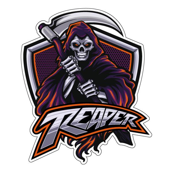 Наклейка Reaper, фото 1