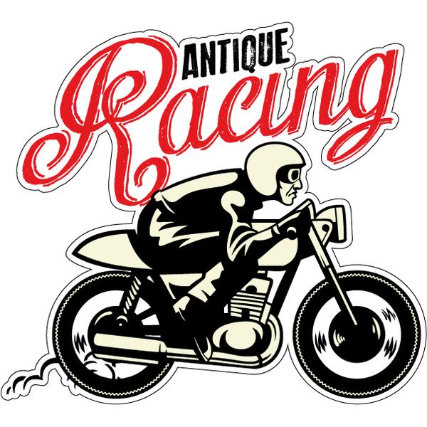 Наклейка Antique Racing, фото 1