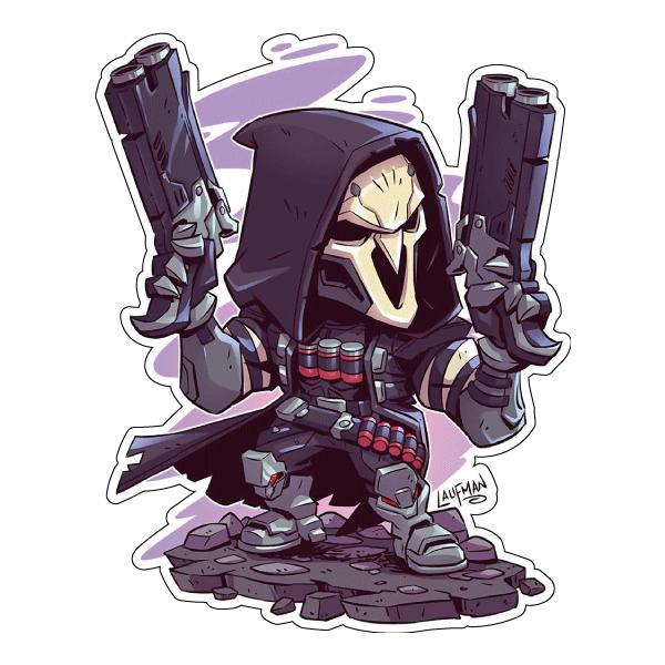 Стикер Star Wars Reaper, фото 1