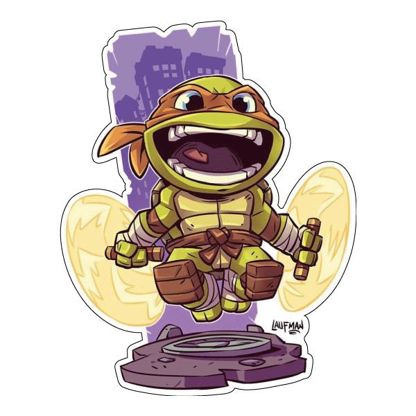 Стикер TMNT Michelangelo, фото 1