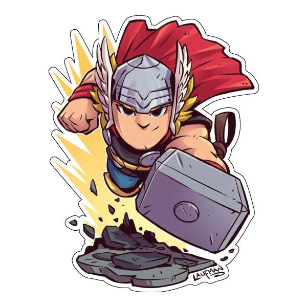 Стикер Marvel Тор, фото 1