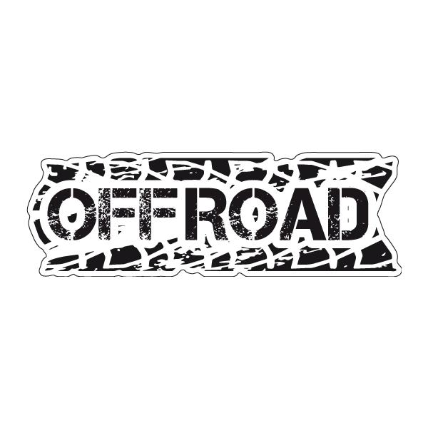 Наклейка Offroad, фото 1