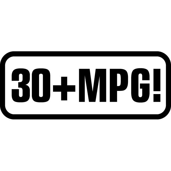 Наклейка 30+mpg, фото 13