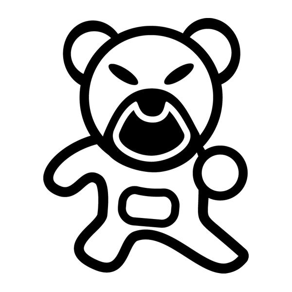 Наклейка Japan bear, фото 13