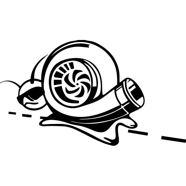 Наклейка Turbo, фото 13