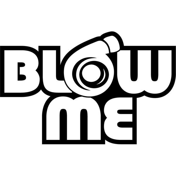 Наклейка Blow me, фото 13