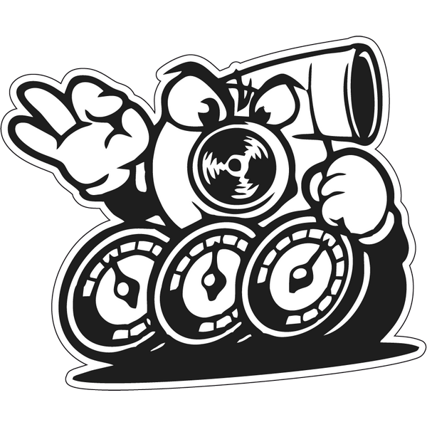 Наклейка Turbo, фото 1