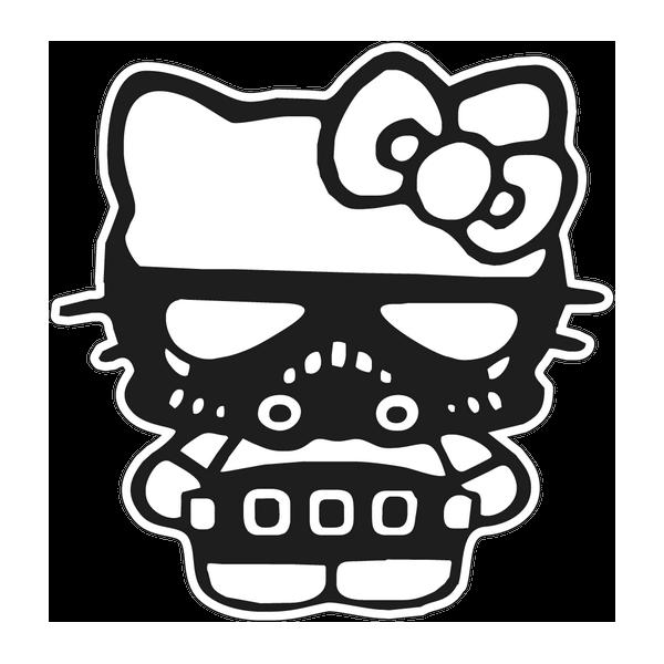Наклейка Hello Kitty, фото 1