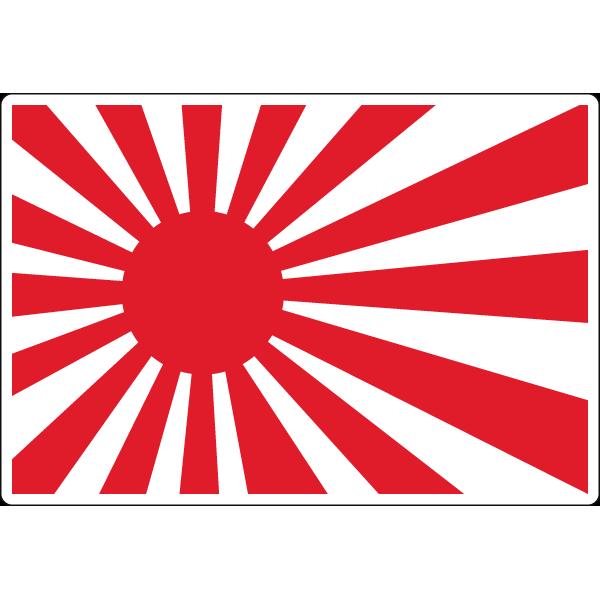 Наклейка Japan Flag, фото 1