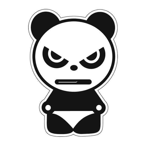 Наклейка Panda boy, фото 1