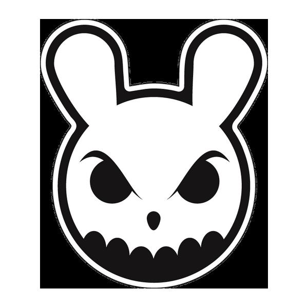 Наклейка Angry rabbit, фото 1
