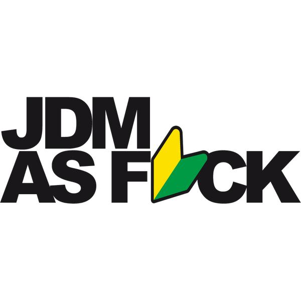 Наклейка JDM as f#ck, фото 3