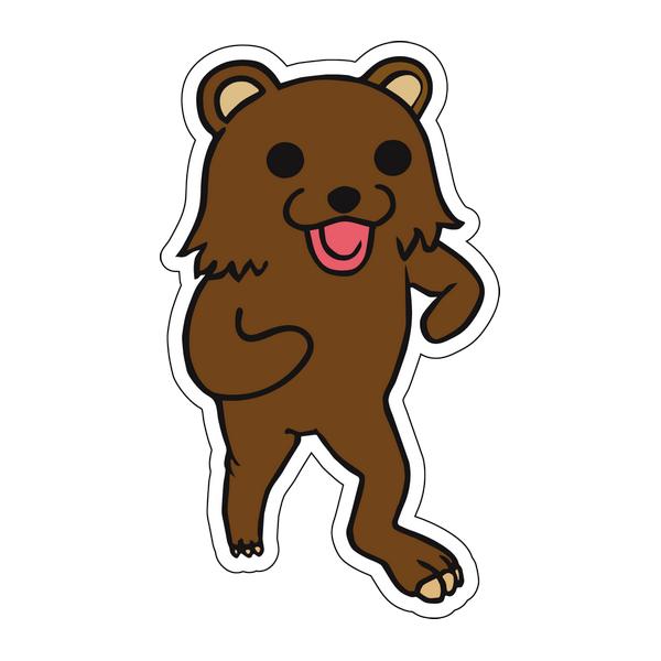 Наклейка Pedobear, фото 1