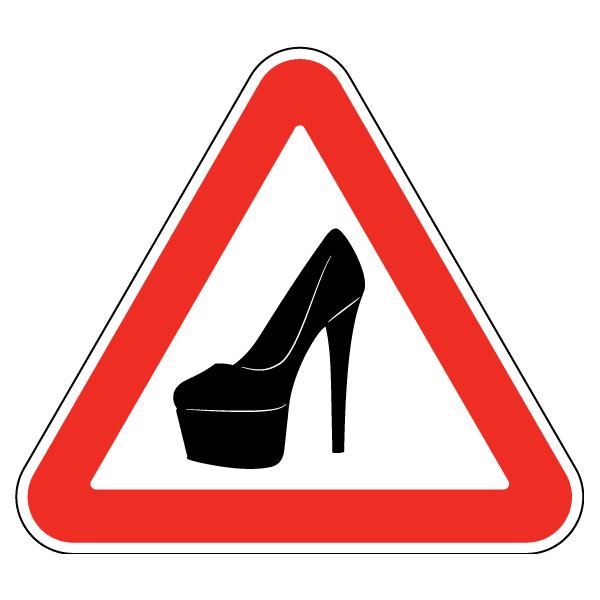 Наклейка Девушка за рулем, фото 1