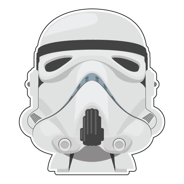 Наклейка Star Wars Штурмовик, фото 1