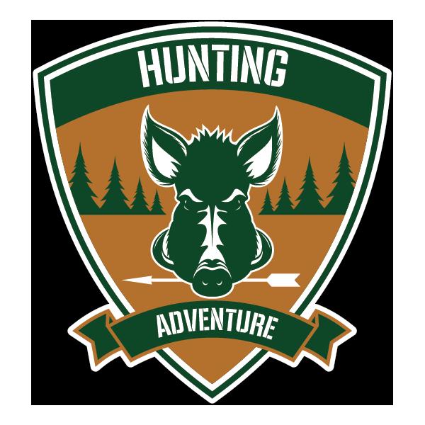 Наклейка Hunting Adventure, фото 1