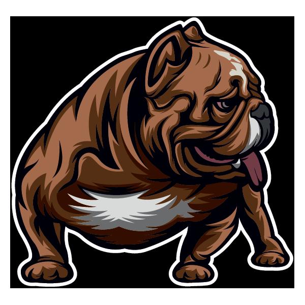 Наклейка Собака-092, фото 1
