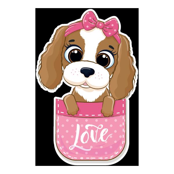 Наклейка Собака-099, фото 1