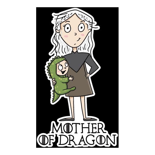 Наклейка Mother of Dragon, фото 1