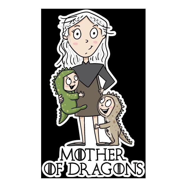 Наклейка Mother of Dragons-2, фото 1