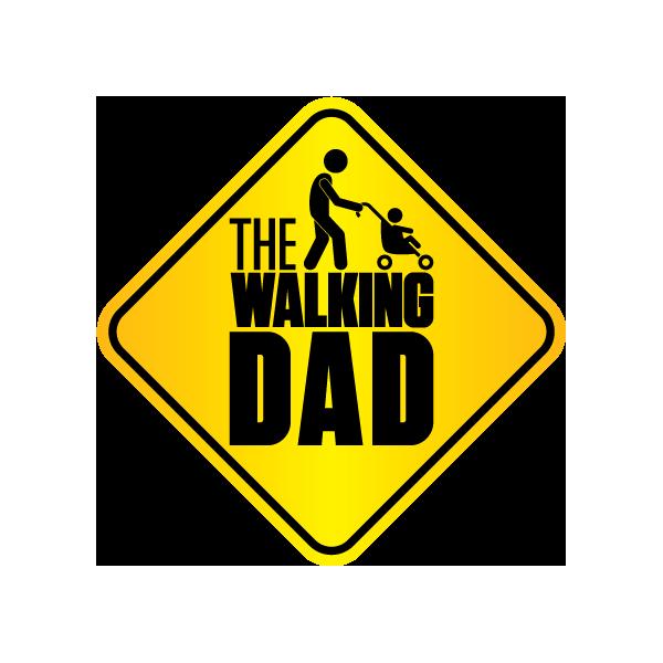 Наклейка The Walking Dad, фото 1