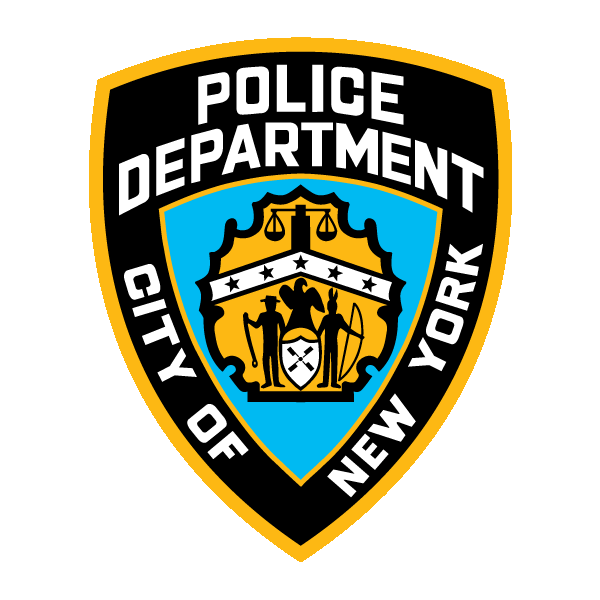 Наклейка NYPD New York Police Department, фото 1