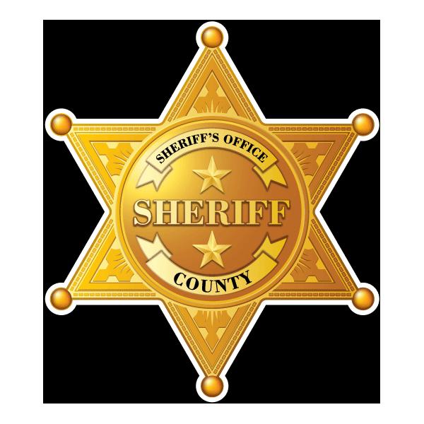 Наклейка Звезда Шерифа-027, фото 1