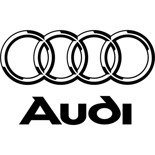 Наклейка Audi Logo, фото 13