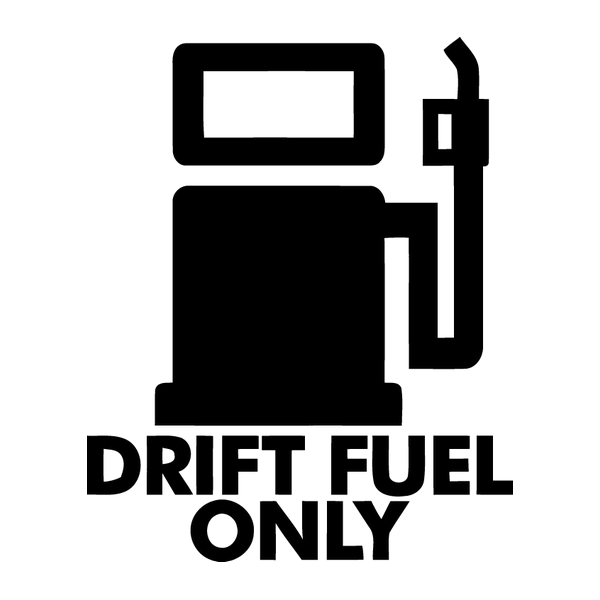 Наклейка Drift fuel only, фото 13