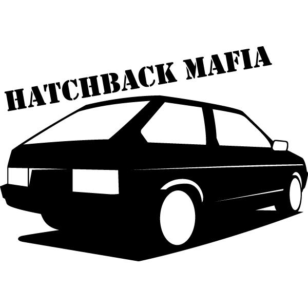 Наклейка Hatchback mafia, фото 13