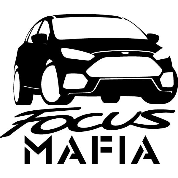 Наклейка Focus mafia, фото 13